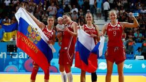Россиянки взяли золото Европейских игр